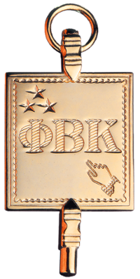 Phi Beta Kappa golden key